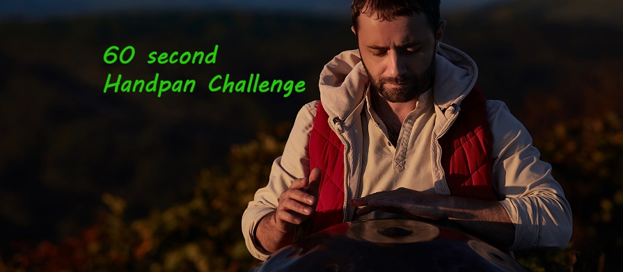 60 second Handpan Challenge